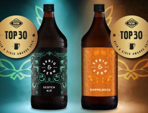 Achieving two 'Top 30' spots in New World awards cements Sprig & Fern Brewery's reputation for excellence